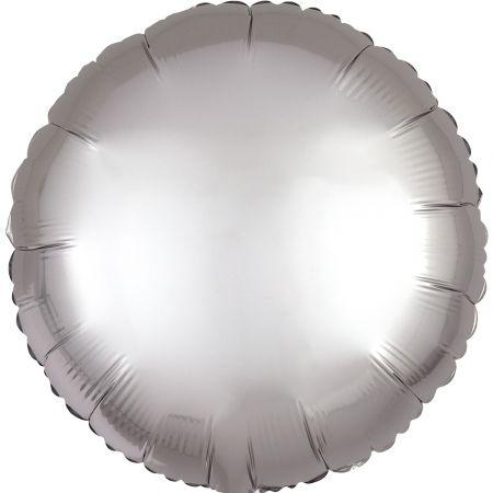 Product Foil balloon circle grey