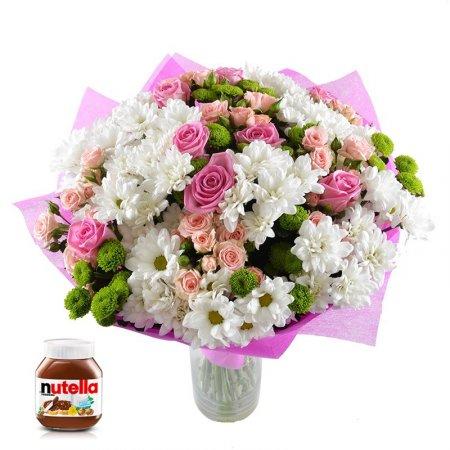 Bouquet Present + nutella