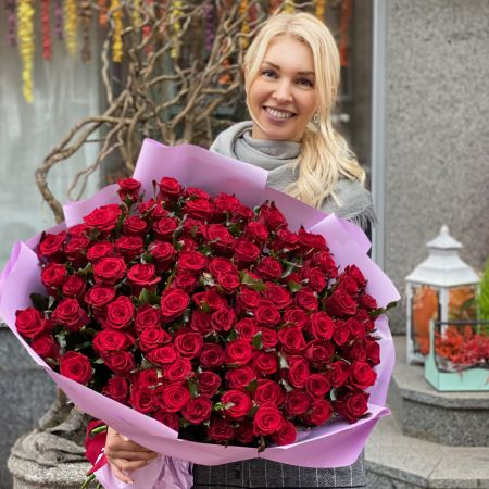 Bouquet Promo! 101 red roses