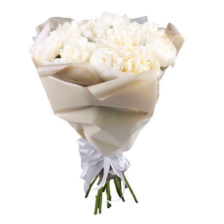Bouquet White peonies