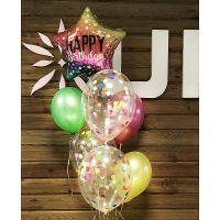 Product Balloon fountain \'Happy Birthday\'
