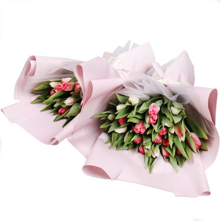 Bouquet Tulips set for Women's Day