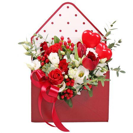 Bouquet Love letter