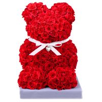 Bouquet Teddy of roses