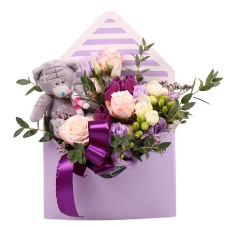 Bouquet Tender message