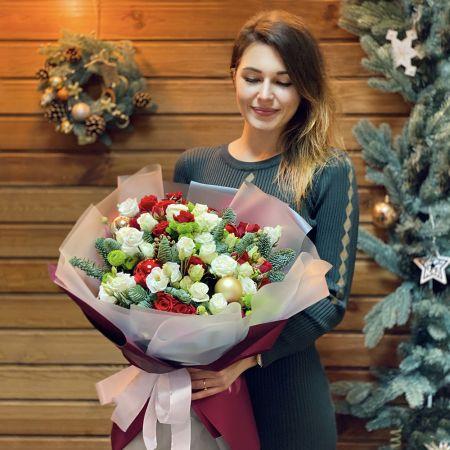 Bouquet Christmas bouquet by florist's design
