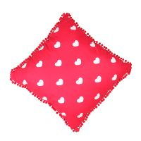 Product Pillow with hearts double-sided