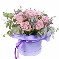 Bouquet Roses and lavender
