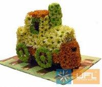 Bouquet Fabulous locomotive