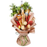 Product Edible men bouquet