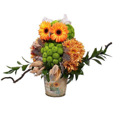 Bouquet Auntie Owl