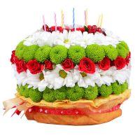 Bouquet Flower cake
