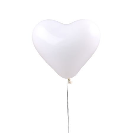 Product Воздушный шарик «Белоснежное сердце»