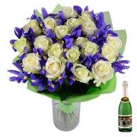 Bouquet Winter dream+champagne